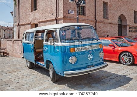 Vintage Van Volkswagen