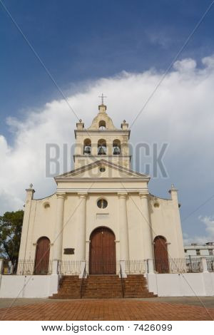 Old Church With Three Bells In Santa Clara City (ii)