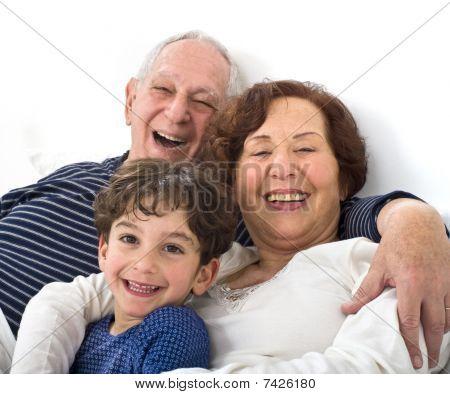 Grandparents Grandchild Bed
