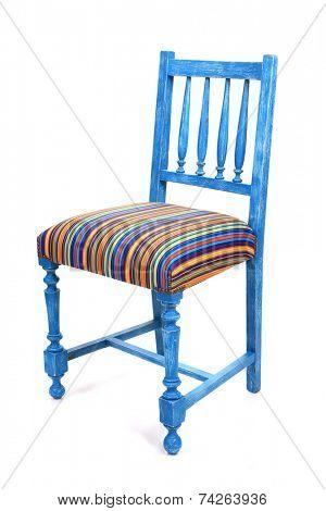 Vintage old wood chairs