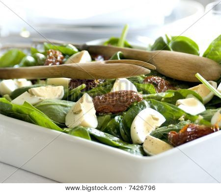 spinat salad
