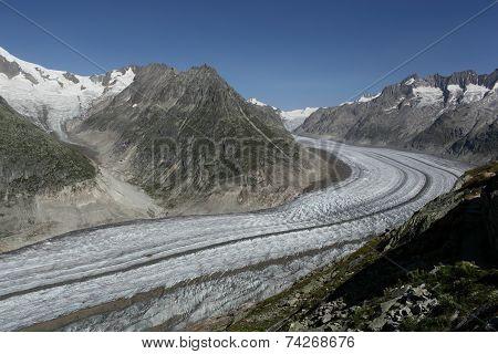 Glacier in Switzerland