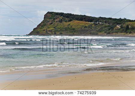 Seven Mile Beach In Lennox Head In Australia