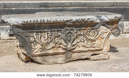 Architectural Part With Ornament