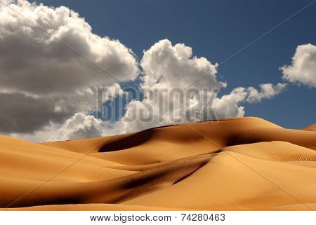 Beautiful Sand Dunes at the Imperial Sand Dunes California