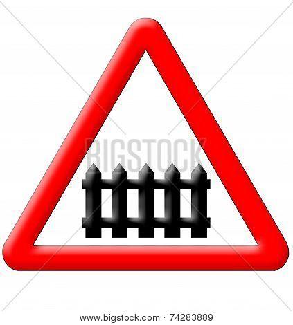 Railway Traffic Sign