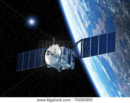 Satellite And Star