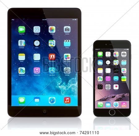 Ipad Mini And Iphone 6