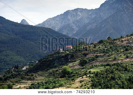 Landscape of Northern Greece