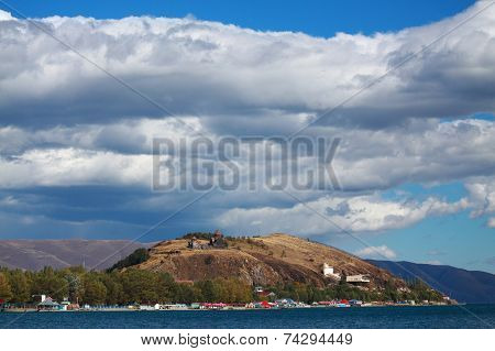 Sevan peninsula in Armenia