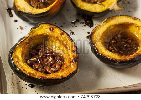 Homemade Roasted Acorn Squash