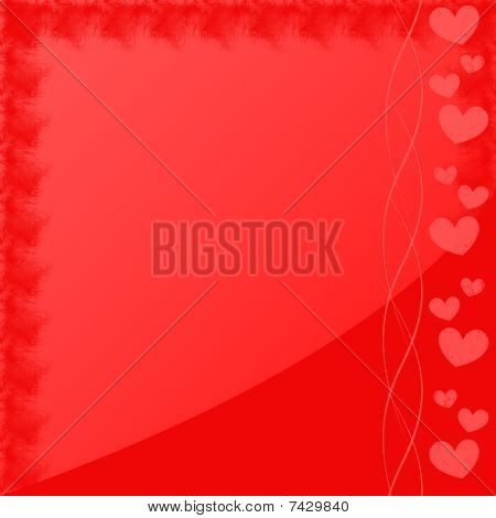 Red HeartsFrame