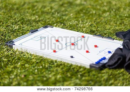 Football Soccer Training Tactic Board