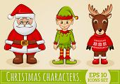 picture of elf  - Christmas characters - JPG
