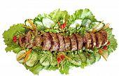 stock photo of meatloaf  - Meatloaf  - JPG