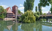 stock photo of hangman  - The famous Weinstadel Wasserturm  - JPG