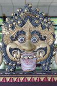 foto of ogre  - teh Ogre decoration in Yogyakarta Sultanate Palace - JPG