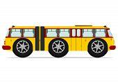 stock photo of motor coach  - Funny bus - JPG