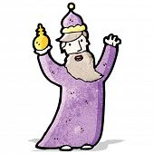 picture of three kings  - one of the three kings cartoon - JPG