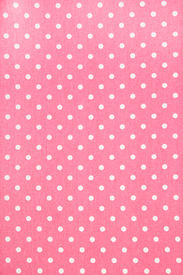 pic of poka dot  - background of pink kitchen towel with poka dots - JPG