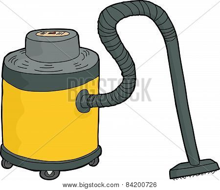 Yellow Shop Vac