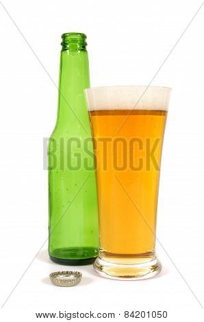 Beer With Empty Bottle