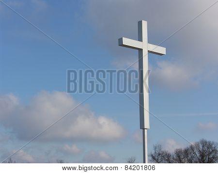Cross Risen into the Air