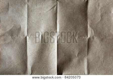 Folded Packing Paper Background