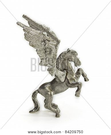 Pewter Figurine Of Pegasus