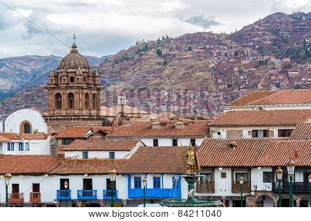 View Of Central Cuzco, Peru