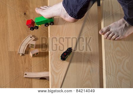 Tripped Over Child's Toy