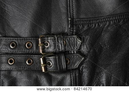 Leather Jacket Buckles