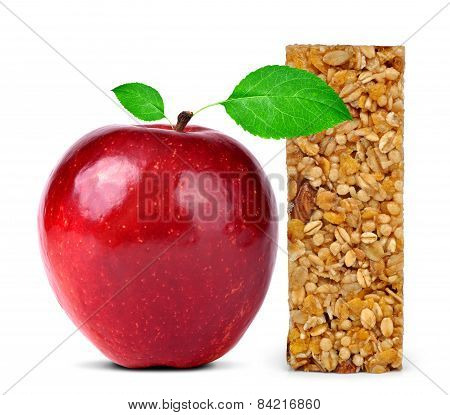 Muesli Bar with apple
