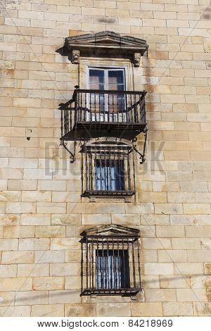 Architecture Of Espinosa De Los Monteros, Burgos, Castilla Y Leon, Spain