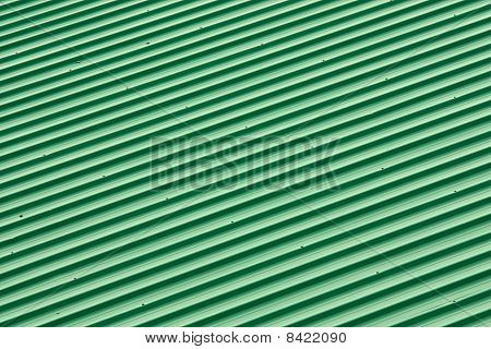 Diagonal Strip Green Roof