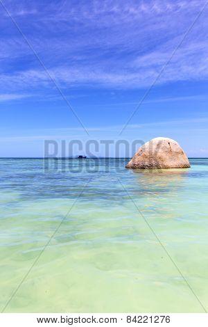 Asia In    Kho    Rocks Pirogue   Sea