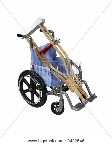 Crutches And Wheelchair