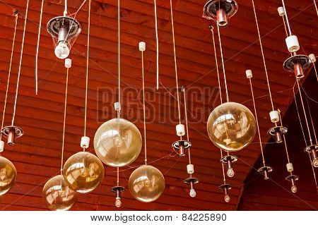 Chandelier Hanging From Ceiling