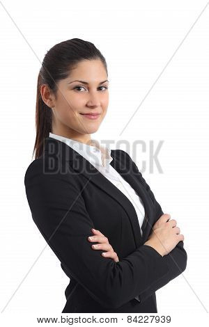 Portrait Of A Confident Businesswoman