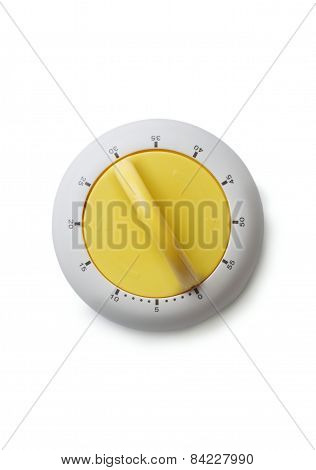 Timer With Yellow Knob