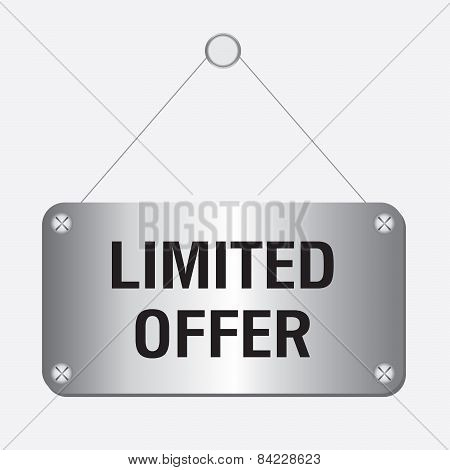 silver metallic limited offer