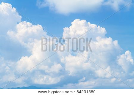 Clouds And The Blue Sky