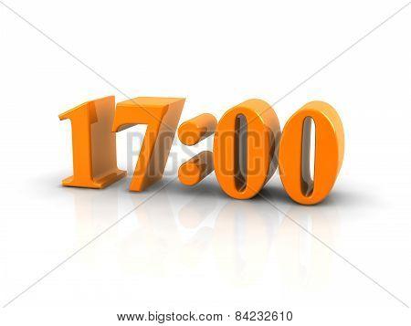 Time 17 O'clock