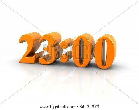 Time 23 O'clock