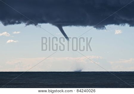 Tornados Over The Mediterranean Sea