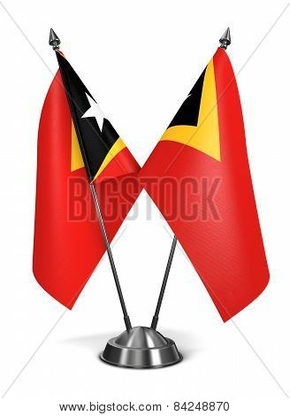 East Timor - Miniature Flags.