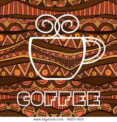 African Coffee Poster