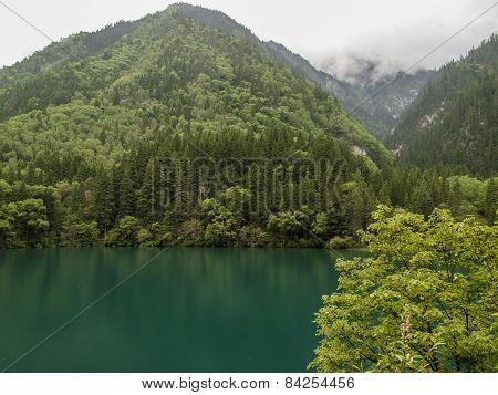 Jiuzhaigou Valley National Park In China