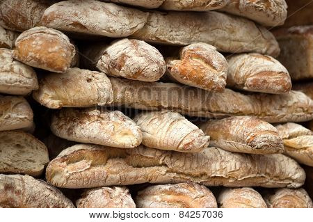 pile of bread