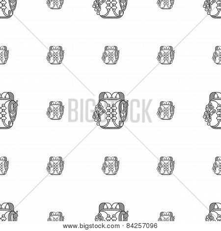 Hiking backpack vector background